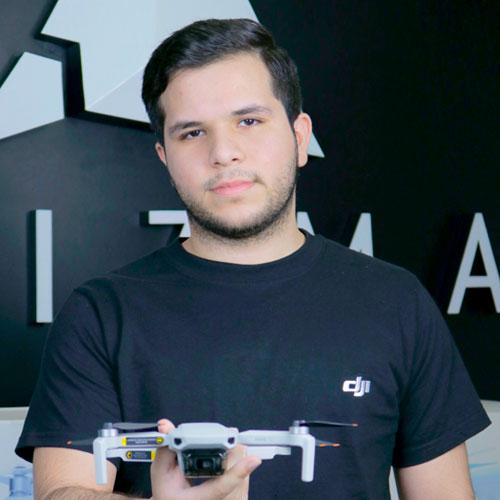 Sergio Gonzales   Técnico Especializado R.P.A.S